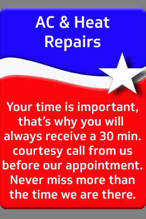 AC & Heat Repairs
